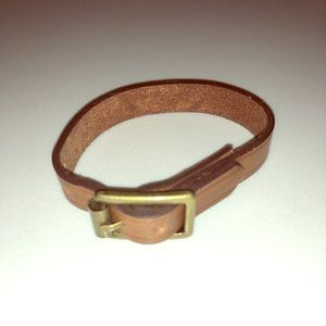 Club Monaco Leather bracelet